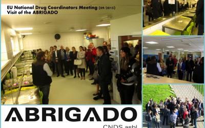 Drogenbeauftragte der EU-Staaten besuchen ABRIGADO